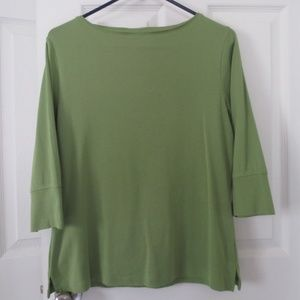 Coldwater Creek Sage Green Women's Top, Size M
